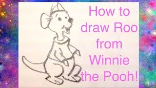 roo from winnie the pooh drawing lesson
