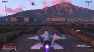 GTA 5 online Как быстро угнать истребитель (военный самолет)