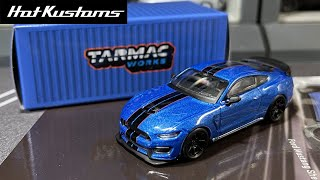 FIRST LOOK | Tarmac Works GLOBAL64 Stunning Ford Mustang Shelby GT350R