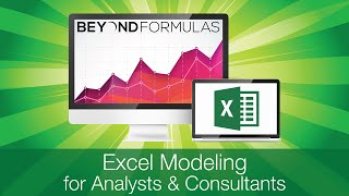 BeyondFormulas - Excel Modeling Training for Analysts & Consultants