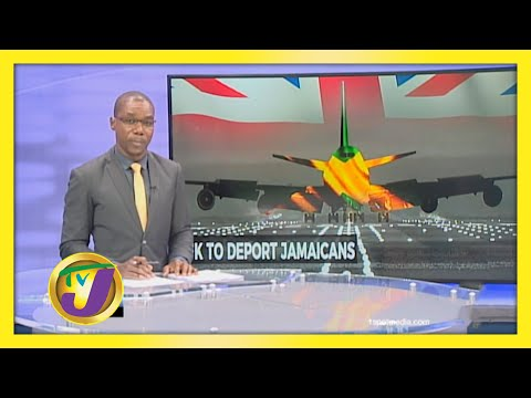 Jamaicans to be Deported from UK   TVJ News