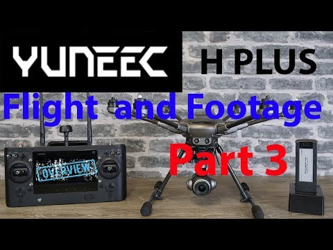 The Yuneec Typhoon H Plus Overview & Review Part 3 - In Flight & Camera Controls