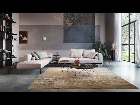 Walter Knoll's Legends of Carpets collection based on African landscapes