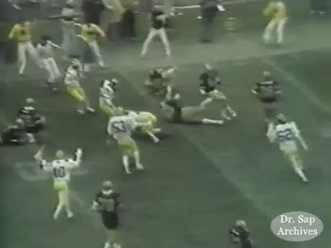 1979 Purdue Michigan Andy Cannavino Interception