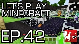 Let's Play Minecraft - Episode 42 - No Petting Zoo Part 2 | Rooster Teeth thumbnail