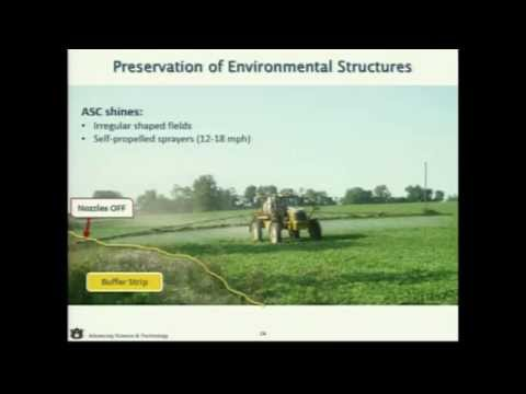 PRECISION AGRICULTURE - Lesson 5 - Automatic Section Control Technology