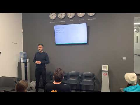 What is Bitcoin Rootstock - Eugene Pavlenko gives a talk at Riga Bitcoin and Blockchain meetup