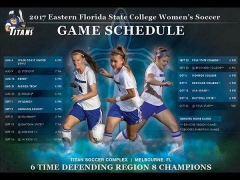 Women's Soccer - Eastern Florida State College vs. Daytona State College