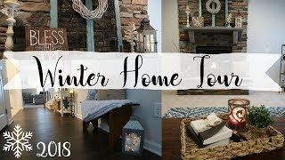 Winter Home Tour | Cozy Rustic Farmhouse Decor | Cook Clean And Repeat