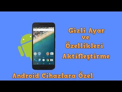 Android Cihazlarda Gizli Ayar Ve Özellikleri Aktifleştirme  👍  QuickShortcutMaker