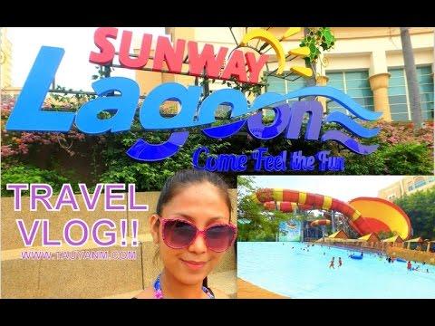 Sunway Lagoon KL, Malaysia | Travel Vlog | @tauyanm