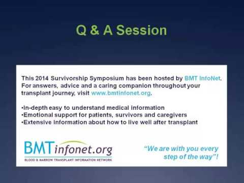 BMTIN1431 Your Eyes and Chronic Graft versus Host Disease