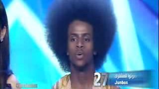 JUNBOX Wiil Somali ah oo wacdare ka dhigay ARAB GOT TALENT