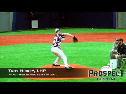 Troy Hickey  Prospect Video, LHP, Wilmot High School Class of 2017