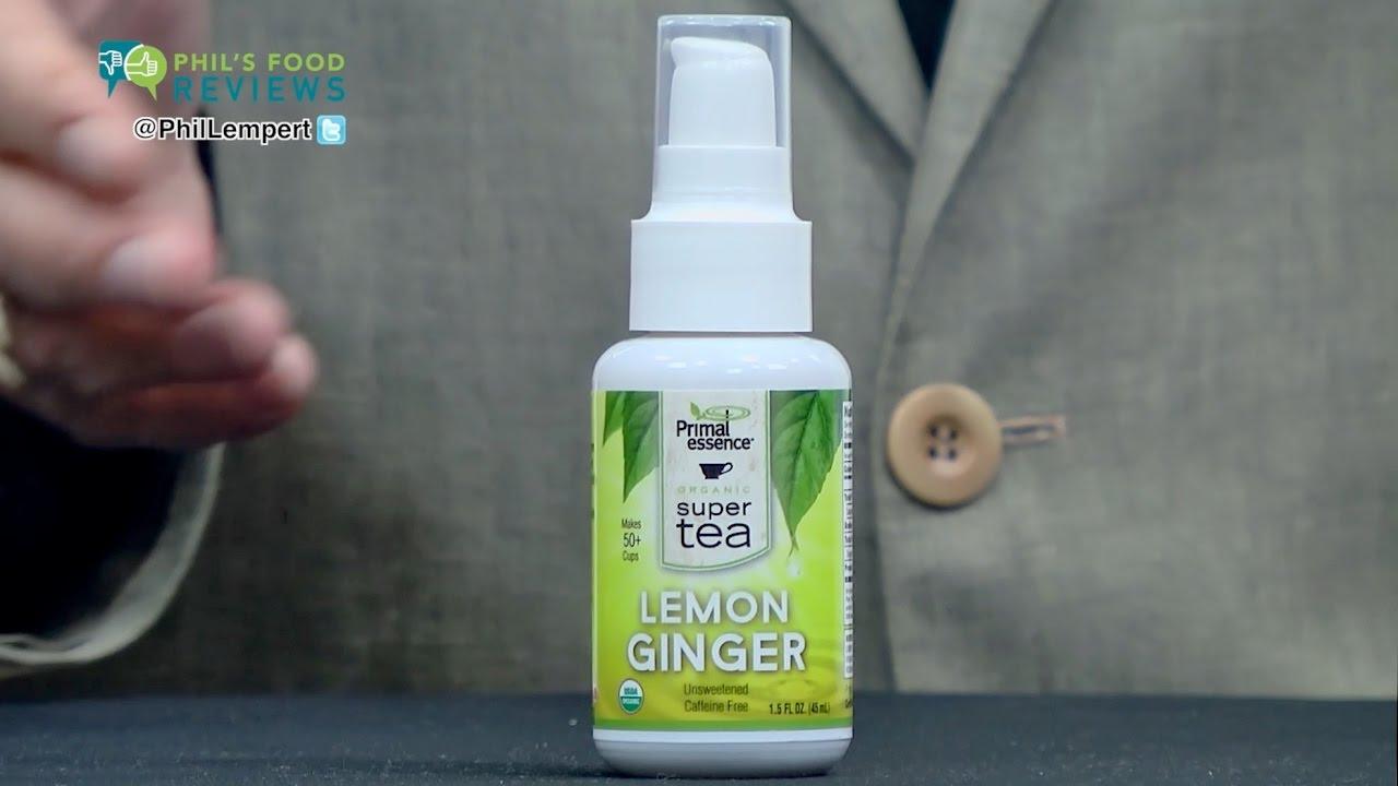 Primal Essence Instant Tea Lemon Ginger is a HIT!