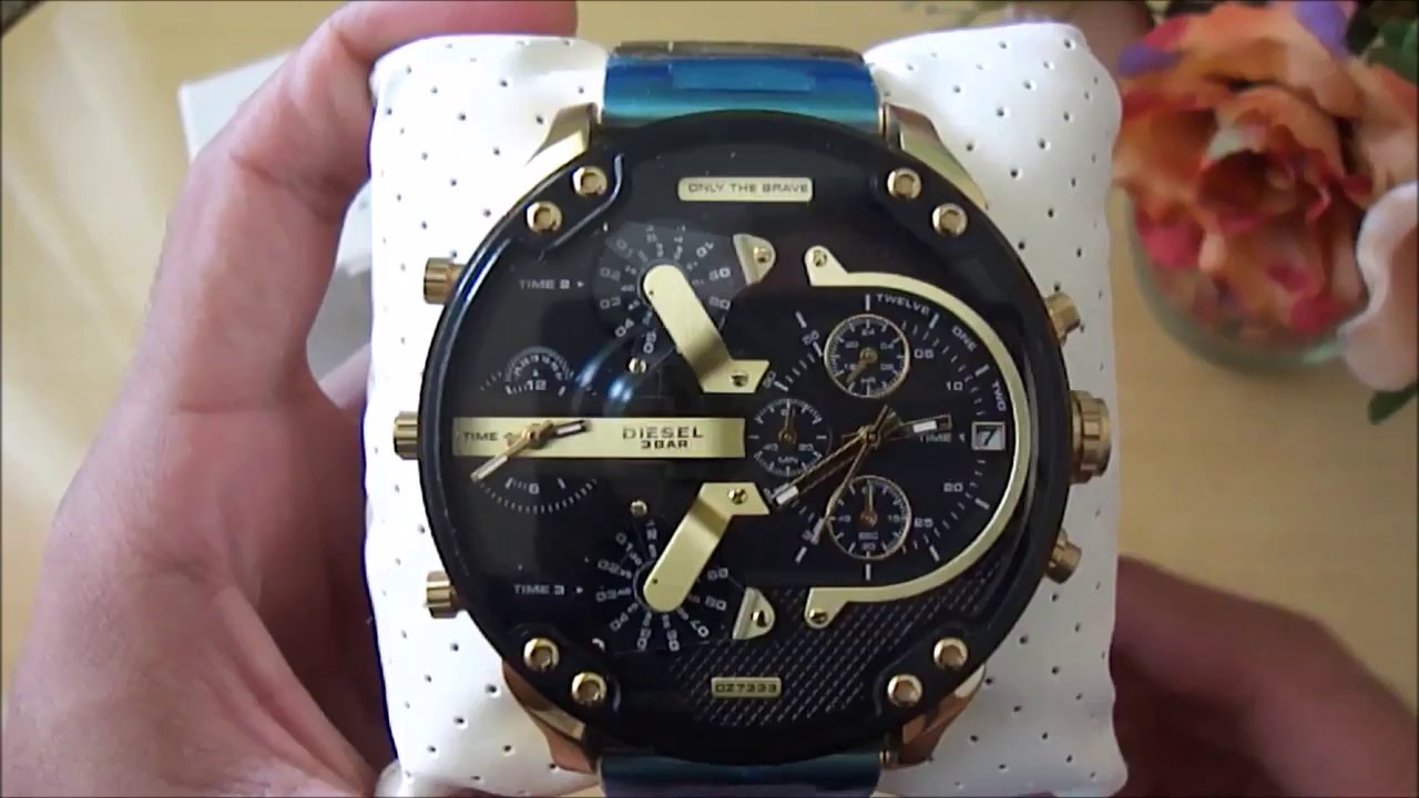 649b7a6610e8 Review - Diesel Mr. Daddy DZ7333 - Luxurious Desire - YouTube