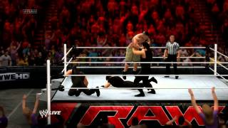 WWE 2K14 - JOHN CENA VS THE SHIELD