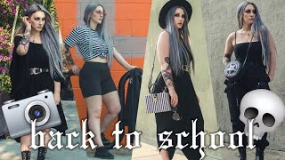 BACK TO SCHOOL LOOKBOOK FT. POSHMARK (emo edition)