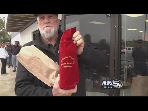 Bourbon Fans Don't Oversleep For Pappy Van Winkle