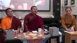 Наванг Намгьял Ринпоче  и Лопен Джигме Вангчук. Сострадательная деятельность Чатрала Ринпоче