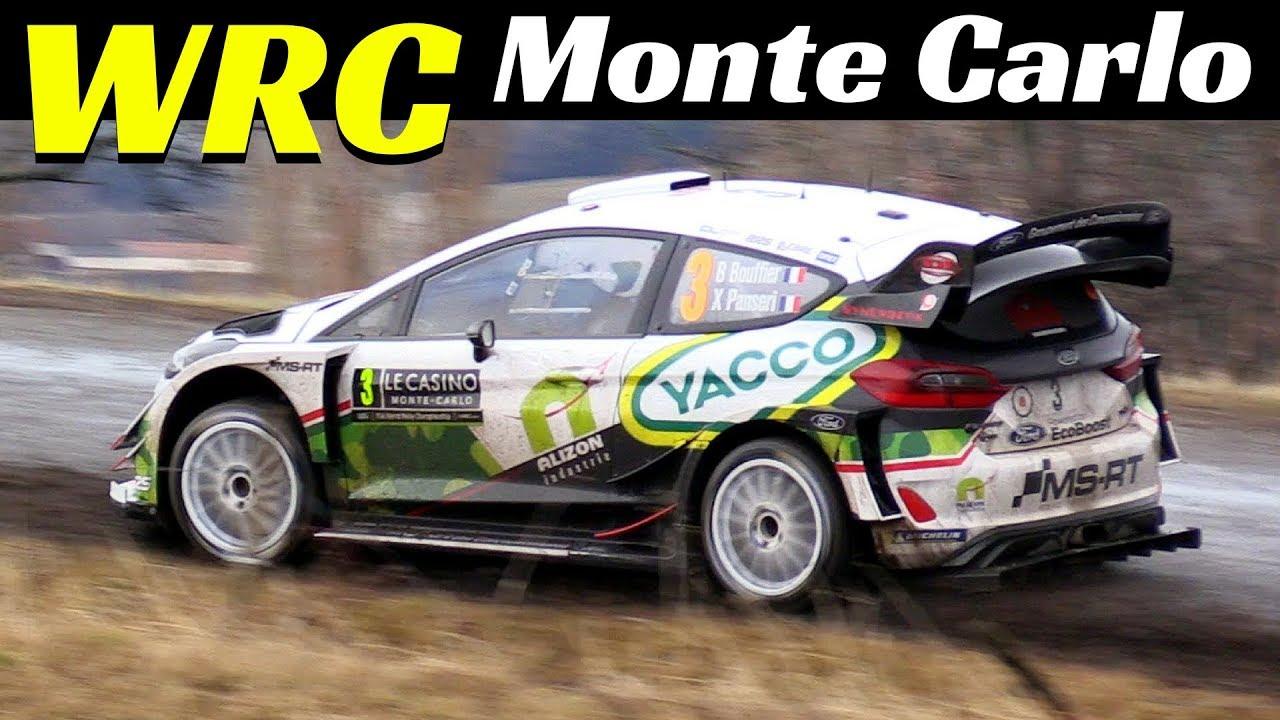 Bryan Bouffier & Panseri Xavier Highlights - WRC Monte Carlo 2018 - Ford Fiesta WRC Action &