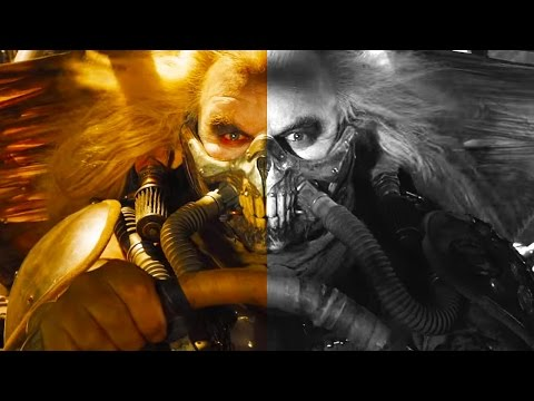 Mad Max: Fury Road Trailer in Black and White