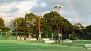 春野運動公園で虹が見えた!