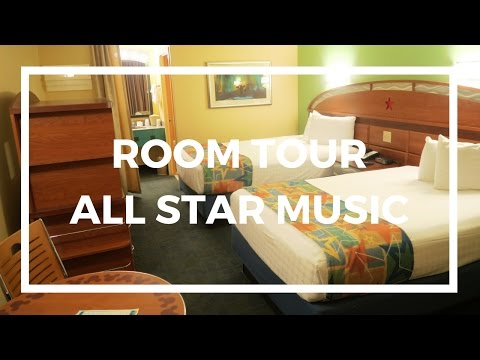 ROOM TOUR DISNEYS ALL STAR MUSIC RESORT