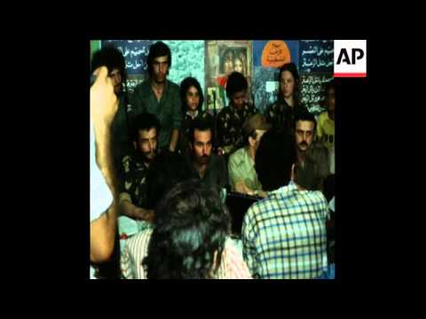 SYND 20 8 76 PLO LEADER ARAFAT INTERVIEW IN BEIRUT