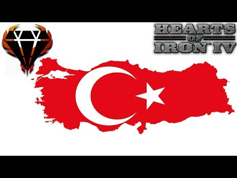 Hearts of Iron 4 - Modern Day Mod 2017 - Conservative Turkey - Rebuilding Ottoman Empire! #1