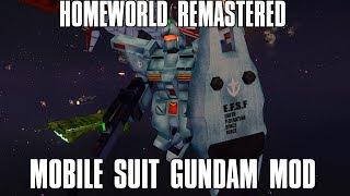 Homeworld Remastered Mobile Suit Gundam Mod Multiplayer 2v2