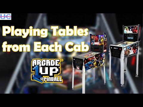 Previewing Tables From Arcade1up's Pinball Cabinets! from Unqualified Critics