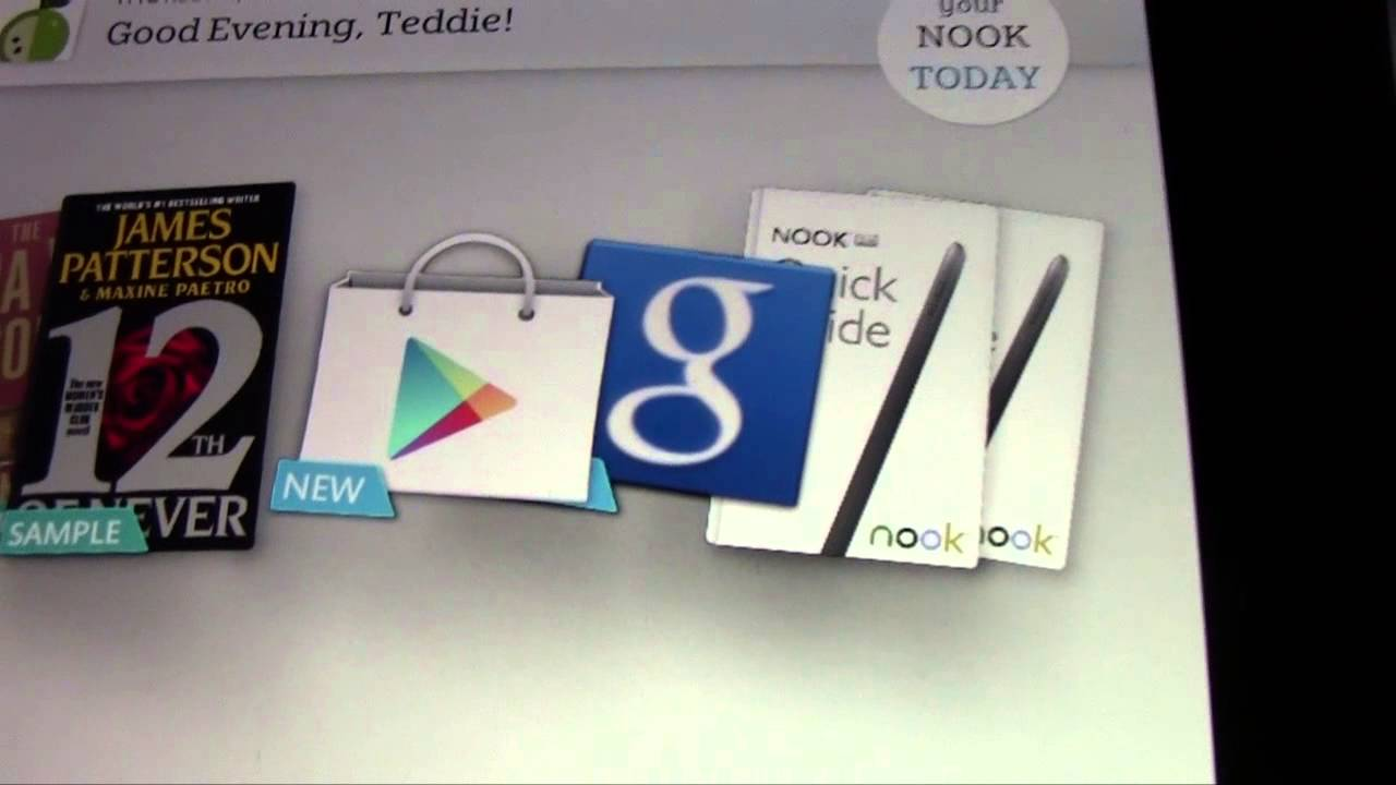 Nook HD: How to Get the Google Play Store | H2TechVideos