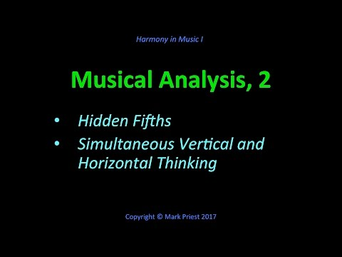 Hidden Fifths, Vertical & Horizontal Thinking - Harmony I, 16