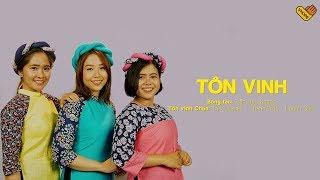VHOPE   Tôn Vinh - Thúy Huyên, Thanh Trúc & Huỳnh Giao   CHẠM+