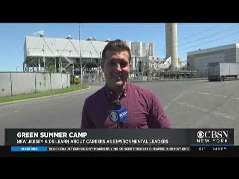 Summer Camp Trip To Covanta Union Waste Management Facility Gives Kids Green Inspiration