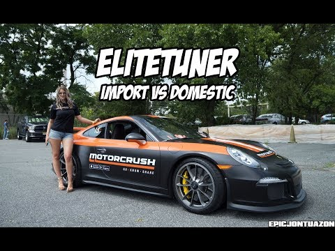 Elite Tuner Import Vs Domestic 2018 | Motorcrush