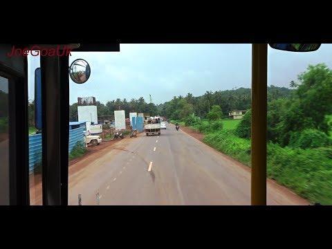 Road bridge flyover work Goa-velha, Agassaim, Cortalim