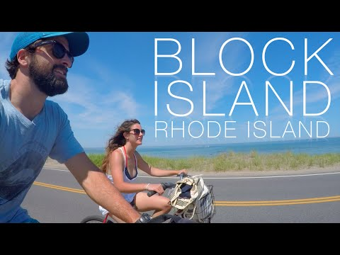 Biking Around Block Island