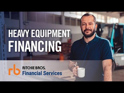 Get truck & heavy equipment financing through Ritchie Bros. Financial Services