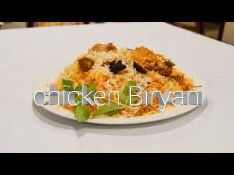 Homemade chicken biriyani with easy process/  in Bengali style