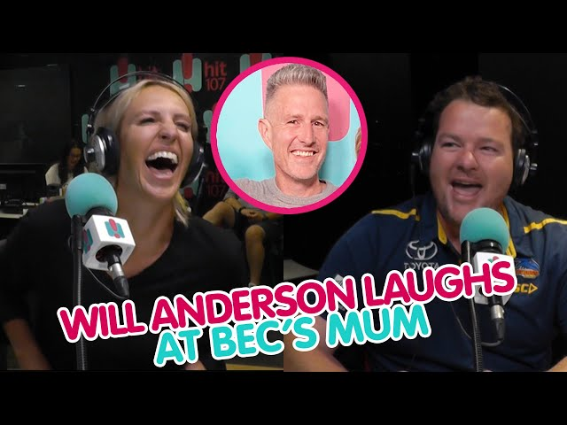 Will Anderson's Hilarious Response To Bec's Mum Passing Out At His Fringe Show