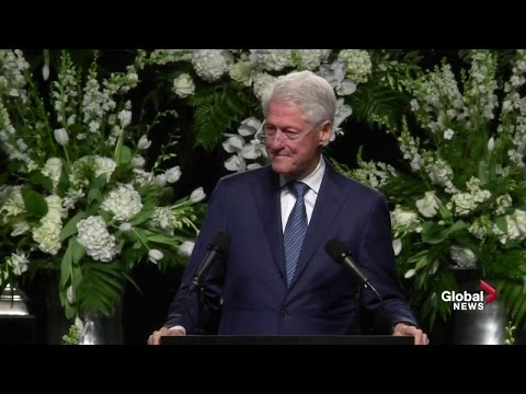 Extended: Former President Bill Clinton...