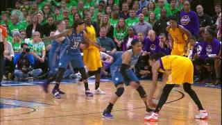 Candace Parker and Maya Moore Duel in Finals Classic