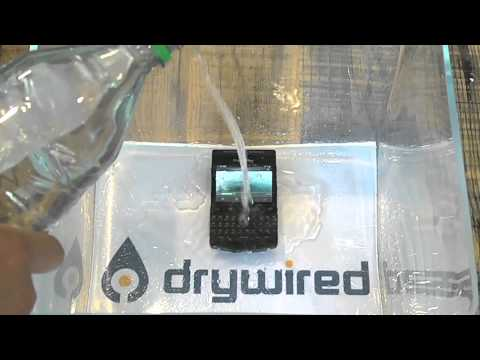 Waterproof iPhone & Blackberry - Product Test - DryWired®
