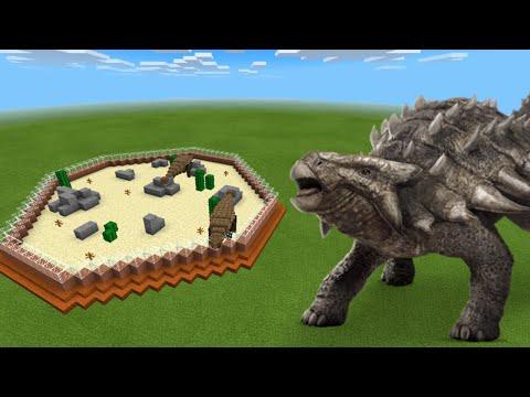 How To Make an Ankylosaurus Farm in Minecraft PE