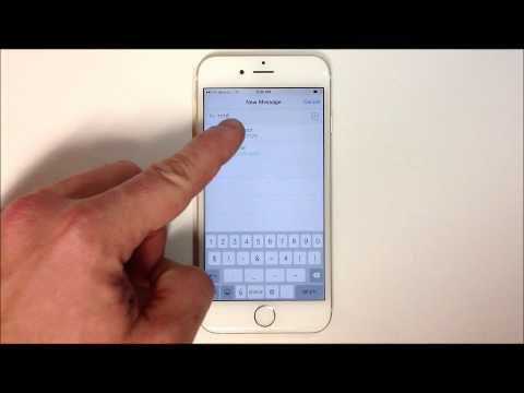 How to Speak your Text Message - iPhone 6
