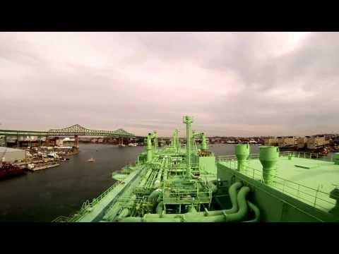 LNG BW GDF Suez Boston inbound Boston Harbor