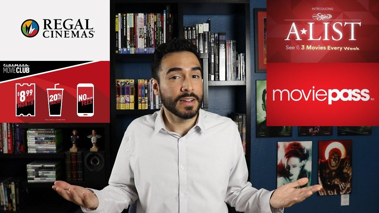 Download : Regal Unlimited Vs AMC A List Vs Cinemark Vs MoviePass Vs