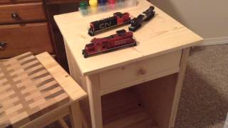 Update: Wood Projects From School, Gp9u Steps, & Decoders
